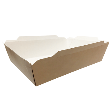 Fuzione Paper Food Tray, Large