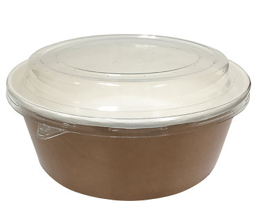 Multi-Food Pot & PP Lid Combo-Pak (1000 ml)