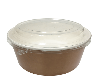 Colpac® Multi-Food Pot & PET Lid Combo-Pak® (700ml Paper Bowl)