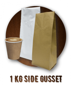 Castaway Coffee Bags 1kg Side Gusset