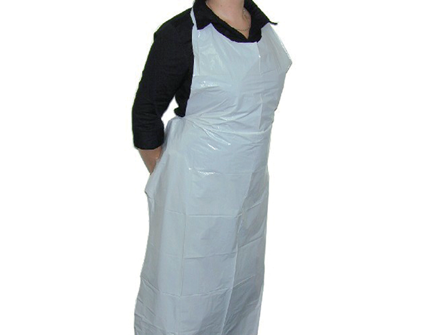 Primesource 174 Disposable Plastic Aprons Castaway 174 Food