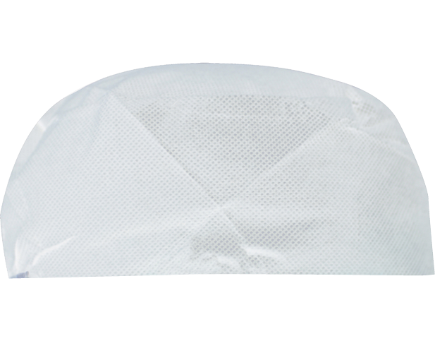 PrimeSource® Disposable Flat-top Chef 's Cap (White)