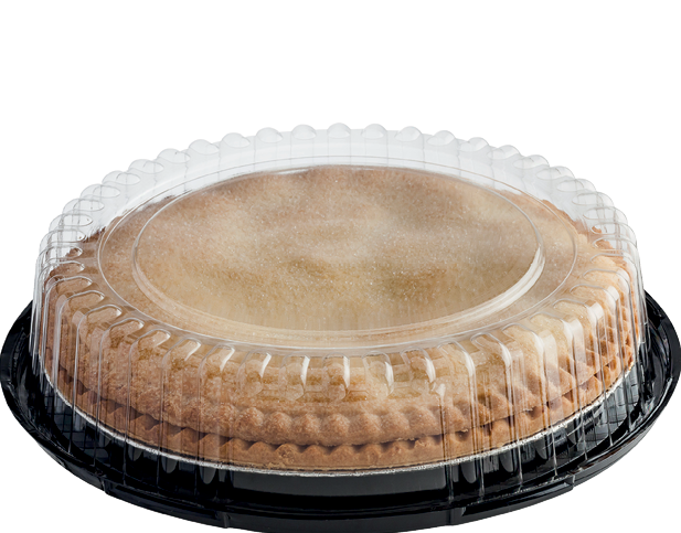 Clearview 174 Cake Plastic Container With Dome Lid Small