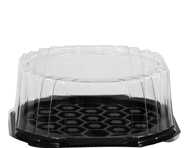Cake Dome Plastic Container, 180mm
