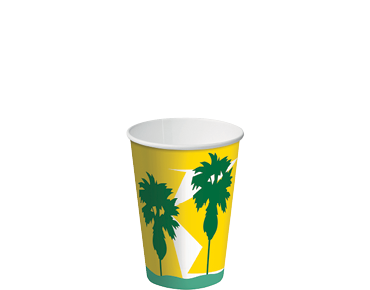8oz Paper Cold Cups with Daintree® design