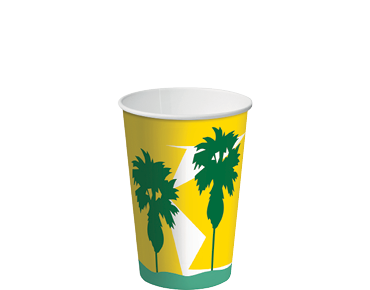 12oz Paper Cold Cups with Daintree® design