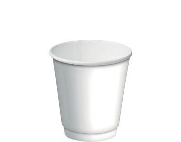 Double Wall Insulcups® Takeaway Paper Coffee Cups (White 8oz)