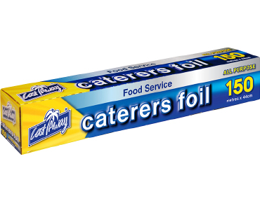 All Purpose Aluminium Caterers Food Foil, 44cm x 150m