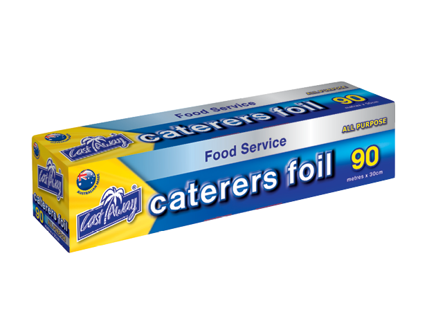 All Purpose Aluminium Caterers Food Foil, 30cm x 90m