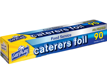 All Purpose Aluminium Caterers Food Foil, 44cm x 90m