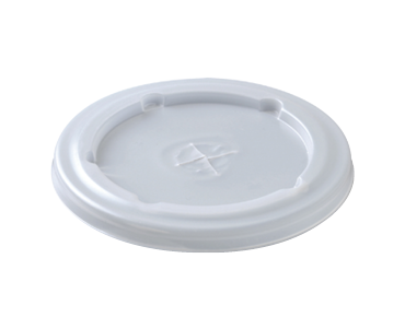 Flat lids with straw slot to suit 12 oz, 16 oz, & 22 oz paper cold cups