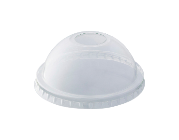 HiKleer® Clear Plastic Cup Lids, Dome with Straw Hole (7 oz, 9 oz & 285 ml)