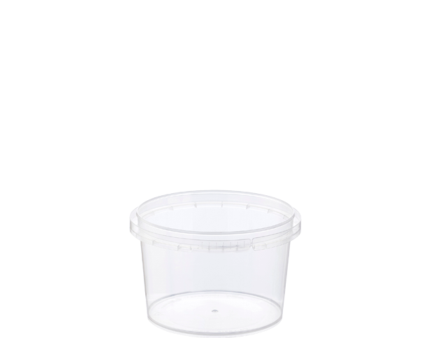 Locksafe Small Round Tamper Evident Containers (210ml)