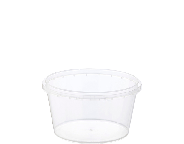 Locksafe Round Tamper Evident Containers (480ml)