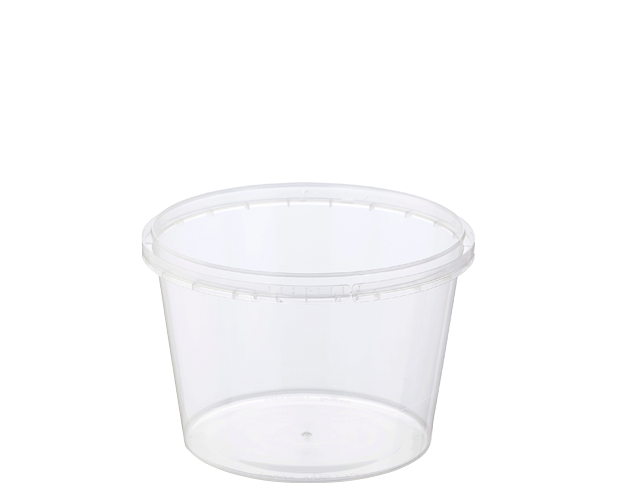 Locksafe Round Tamper Evident Containers (600ml)
