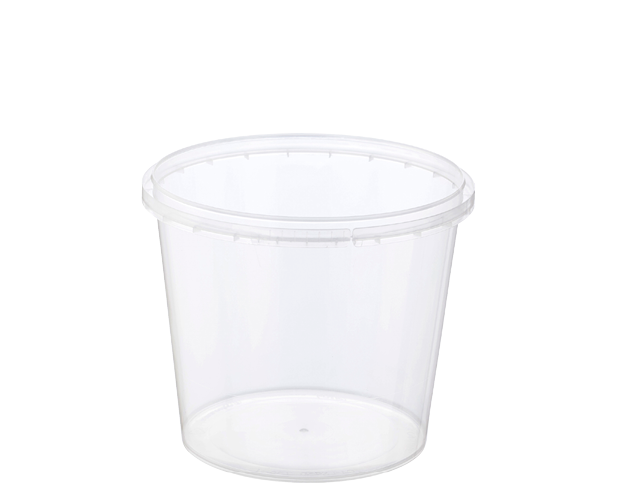 Locksafe Round Tamper Evident Containers (750ml)