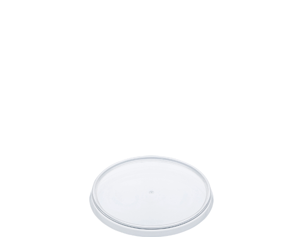 Locksafe Small Round Clear Plastic Lid