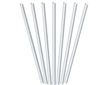Regular Drinking Straws, Clear