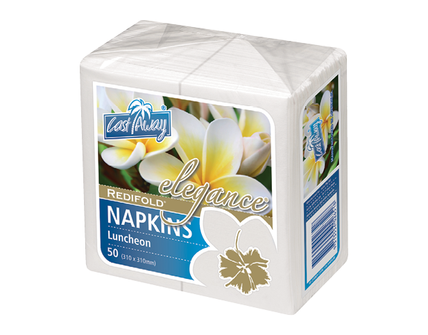 Elegance® Luncheon Paper Napkins (RediFold® White)