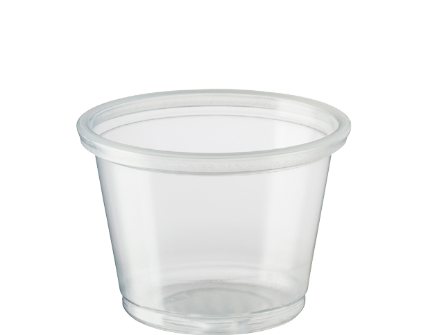 Portion Control Clear Plastic Cups (Small 30ml)