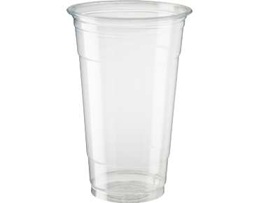 HiKleer® Clear Plastic Cups (24oz)