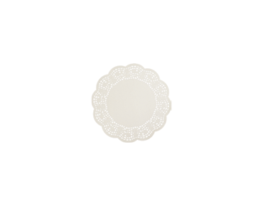 Round Lace Doyleys Tabletop Placemats (4 inches)