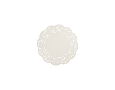 Round Lace Doyleys Tabletop Placemats (5 inches)