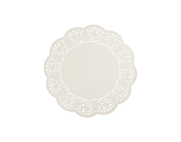 Round Lace Doyleys Tabletop Placemats (8 inches)