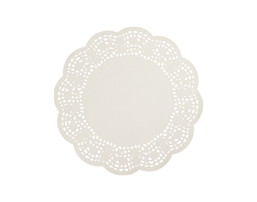Round Lace Doyleys Tabletop Placemats (9 inches)