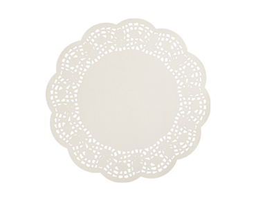 Round Lace Doyleys Tabletop Placemats (10 inches)