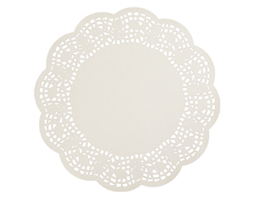 Round Lace Doyleys Tabletop Placemats (12 inches)