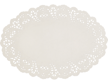 Enviroboard® Lace Doyley, Oval No.4