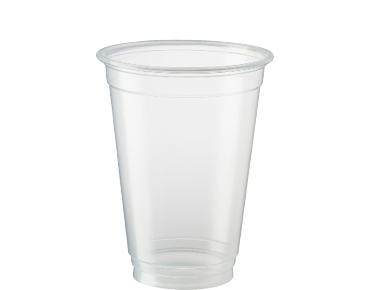 Eco-smart® Biodegradable Plastic Beer Cups (Clear 285ml)