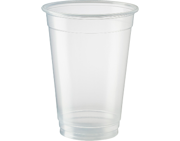 Eco-smart® Biodegradable Plastic Beer Cups (Clear 425ml)