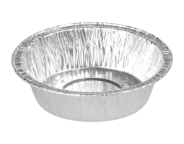 Perforated Pie & Tart Foil Containers (Small Pie Shallow)