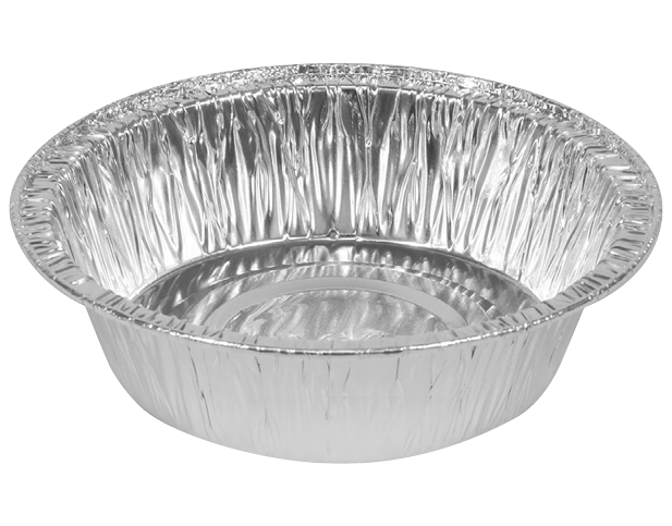 Non-perforated Foil Containers (Medium Pie Shallow)