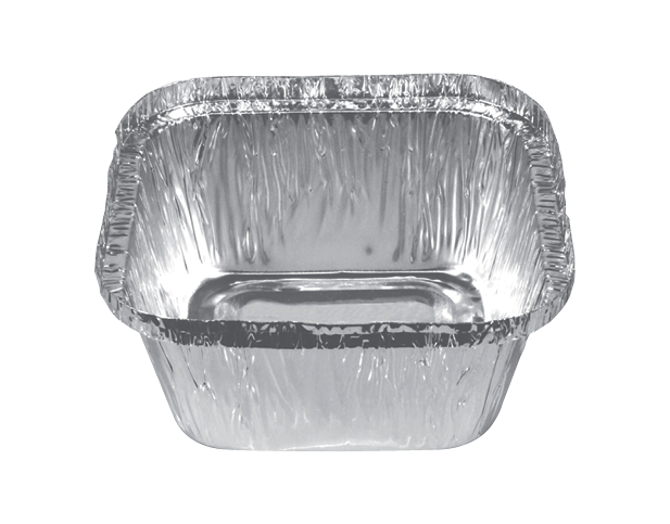 Square Sweet Foil Tray Container (Extra Deep 336ml)