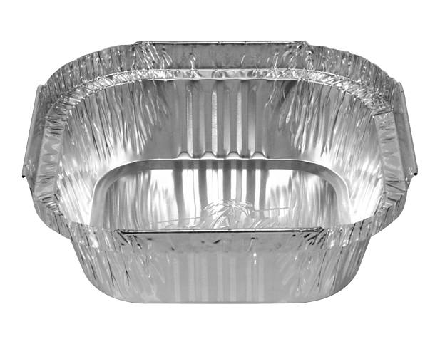 Square Sweet Foil Tray Container (Deep 340ml)
