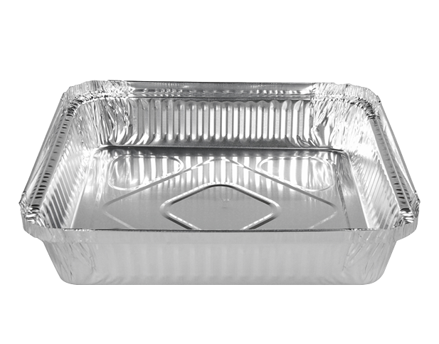 Catering Tray Foil Containers (Large Square)