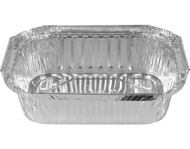 Rectangle Takeaway Foil Containers (Large Deep)