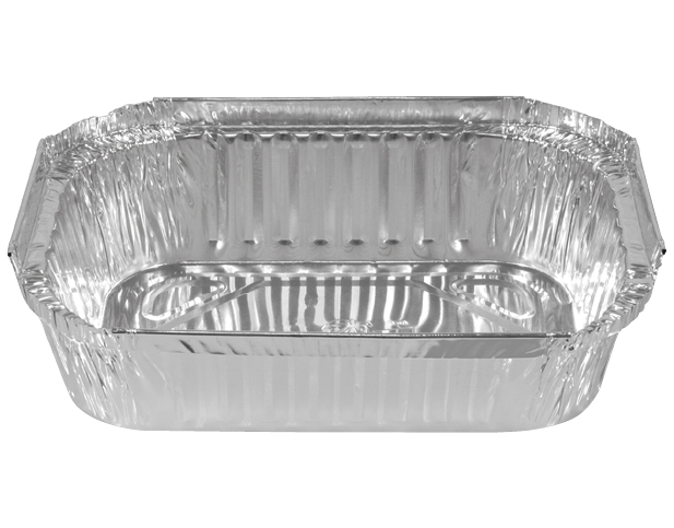 Rectangle Takeaway Foil Containers (Medium Shallow)