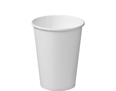 Single Wall Takeaway Paper Coffee Cups (White 12oz)