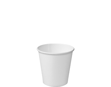 Single Wall Takeaway Paper Coffee Cups (White 4oz)