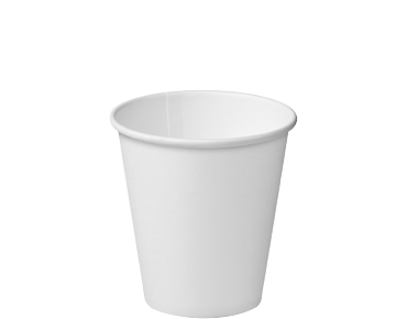 Single Wall Takeaway Paper Coffee Cups (White 8oz)