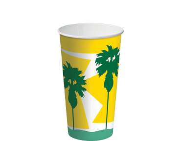 16oz Paper Cold Cups with Daintree® design