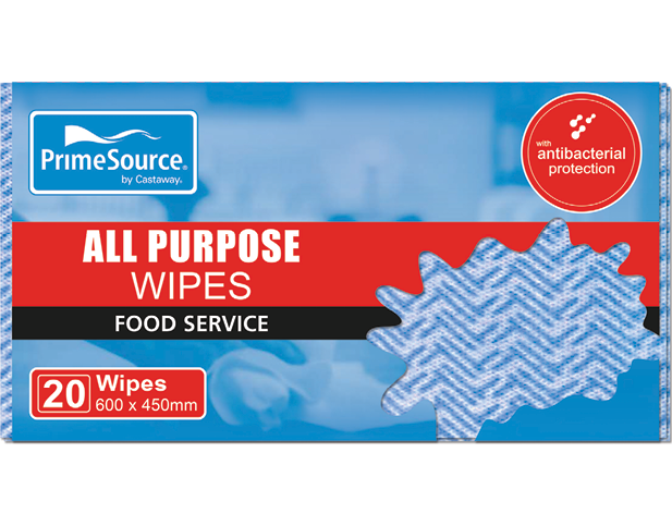 All Purpose Wipes and Cloths (Blue)