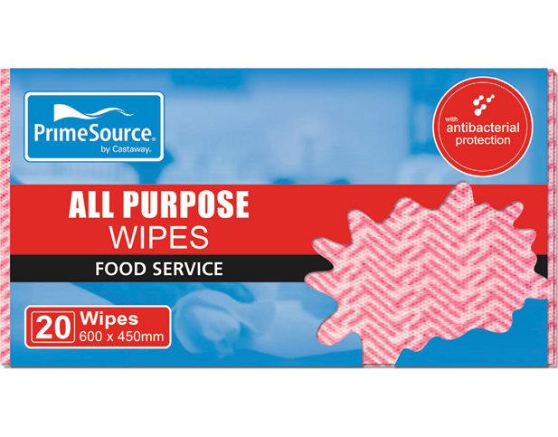 All Purpose Wipes and Cloths (Red)