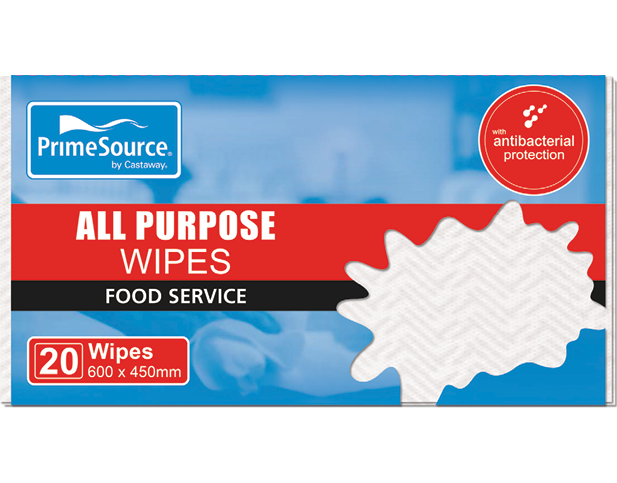 All Purpose Wipes and Cloths (White)