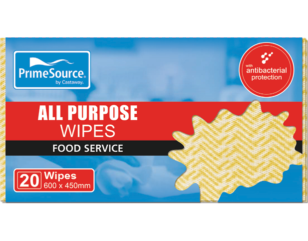 All Purpose Wipes and Cloths (Yellow)