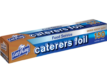 Exra Heavy Duty Aluminium Caterers Food Foil, 44cm x 150m